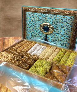 Osmanlı Motifli Hediyelik Pestil Paketi